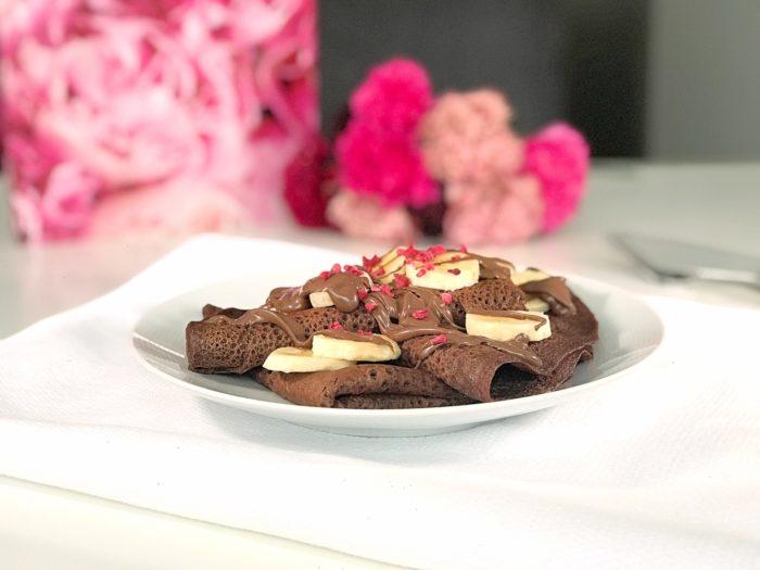 Glutenfri chokladpannkaka