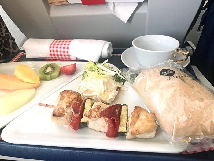 Glutenfri mat Austrian Airlines