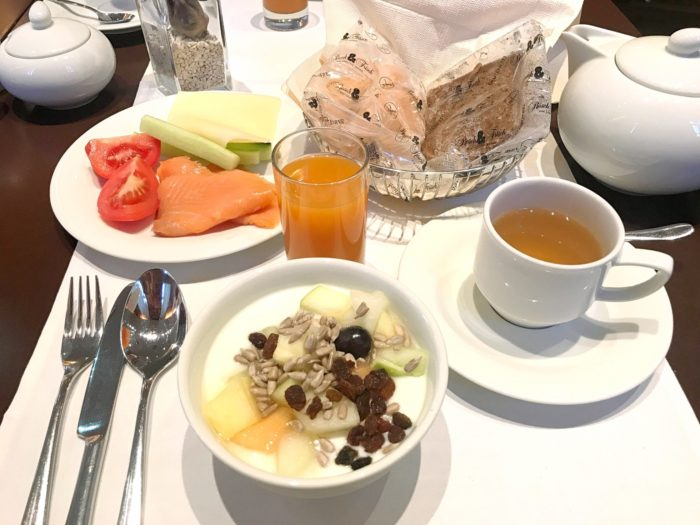 Glutenfri frukost i Wien
