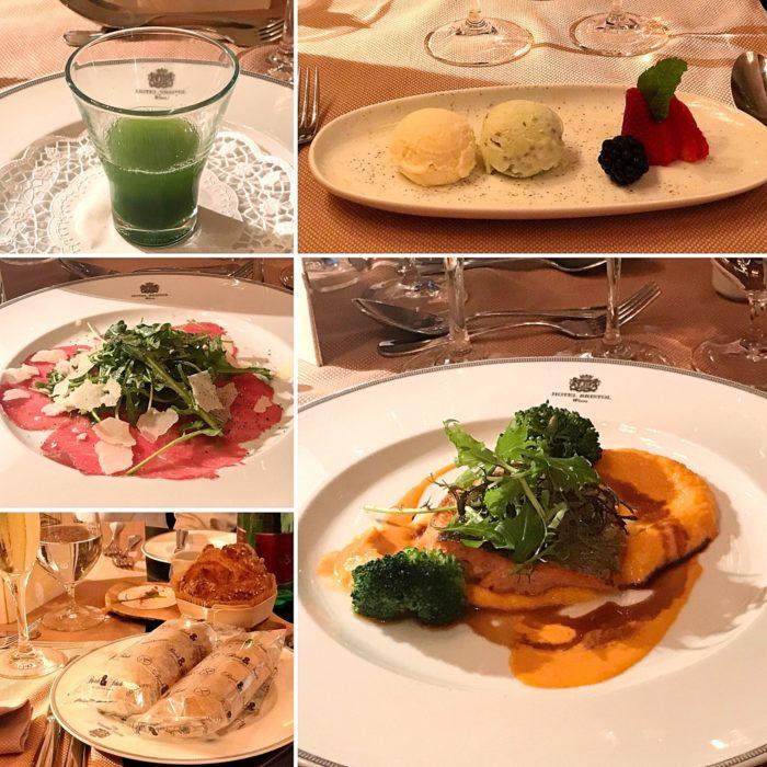 Glutenfri middag Hotel Bristol Wien