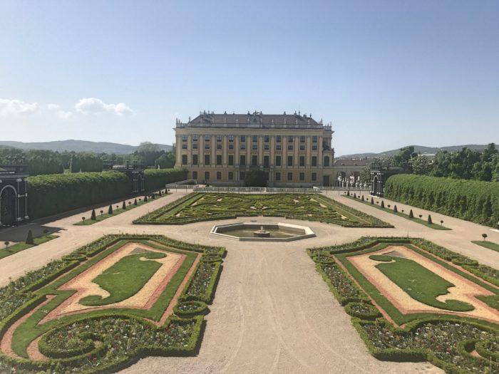 Schönbrunn slott Wien