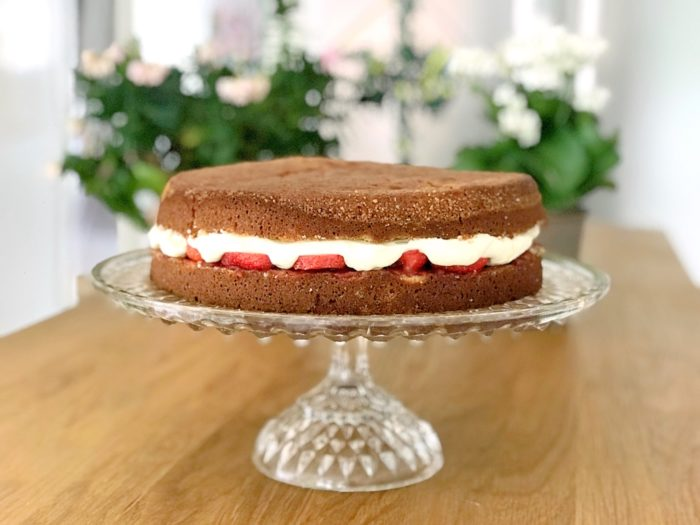 Naturligt glutenfri tårtbotten